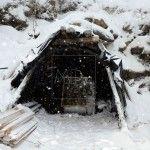 Una de las entrada de la Mina La Escondida