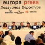 desayunos europa press Miguel Indurain