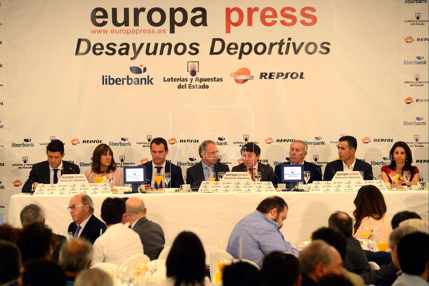 desayunos europa press Miguel Indurain