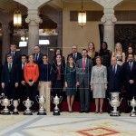 Homenaje al deporte español en 2013