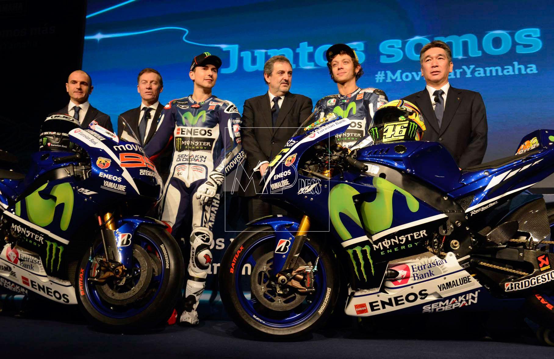Lorenzo y Rossi presentación