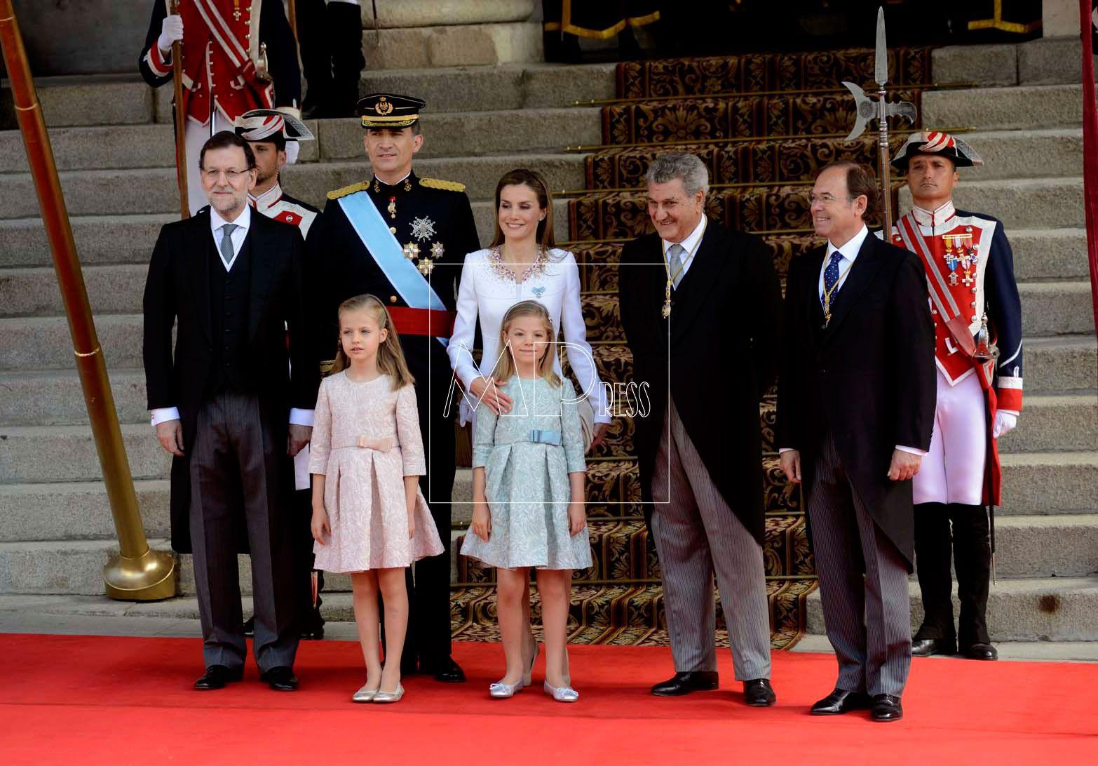 Procramación de Felipe VI