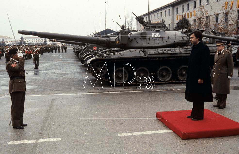 FELIPE GONZALEZ PATRONA INFANTERÍA Madrid; 8-12-1982