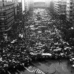 Manifestación contra la Loden
