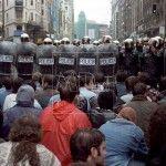 Manifestación estudiantes en Madrid