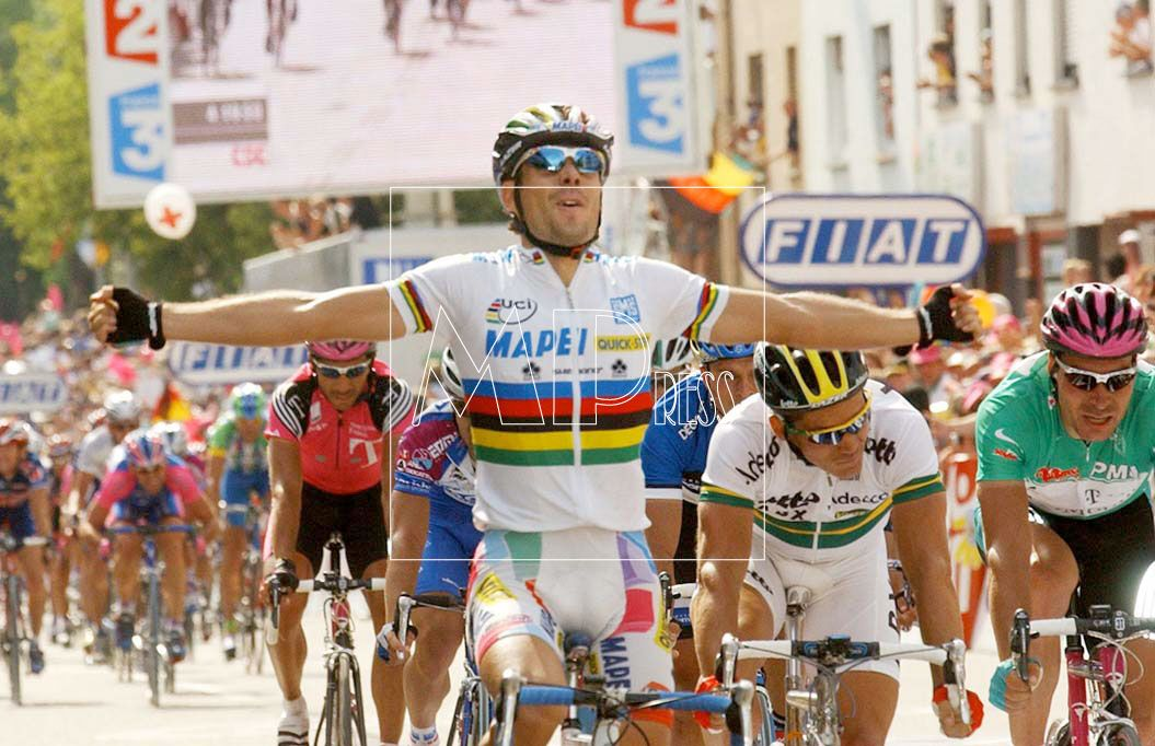 Oscar Freire campeón del mundo
