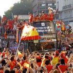 La Roja en Madrid