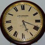 Reloj de de pared, construido por el Relojero José Rodríguez Losada