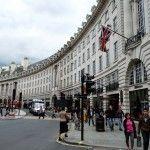 Calle del domicilio donde vivio,José Rodríguez Losada, Regent Street de Londres