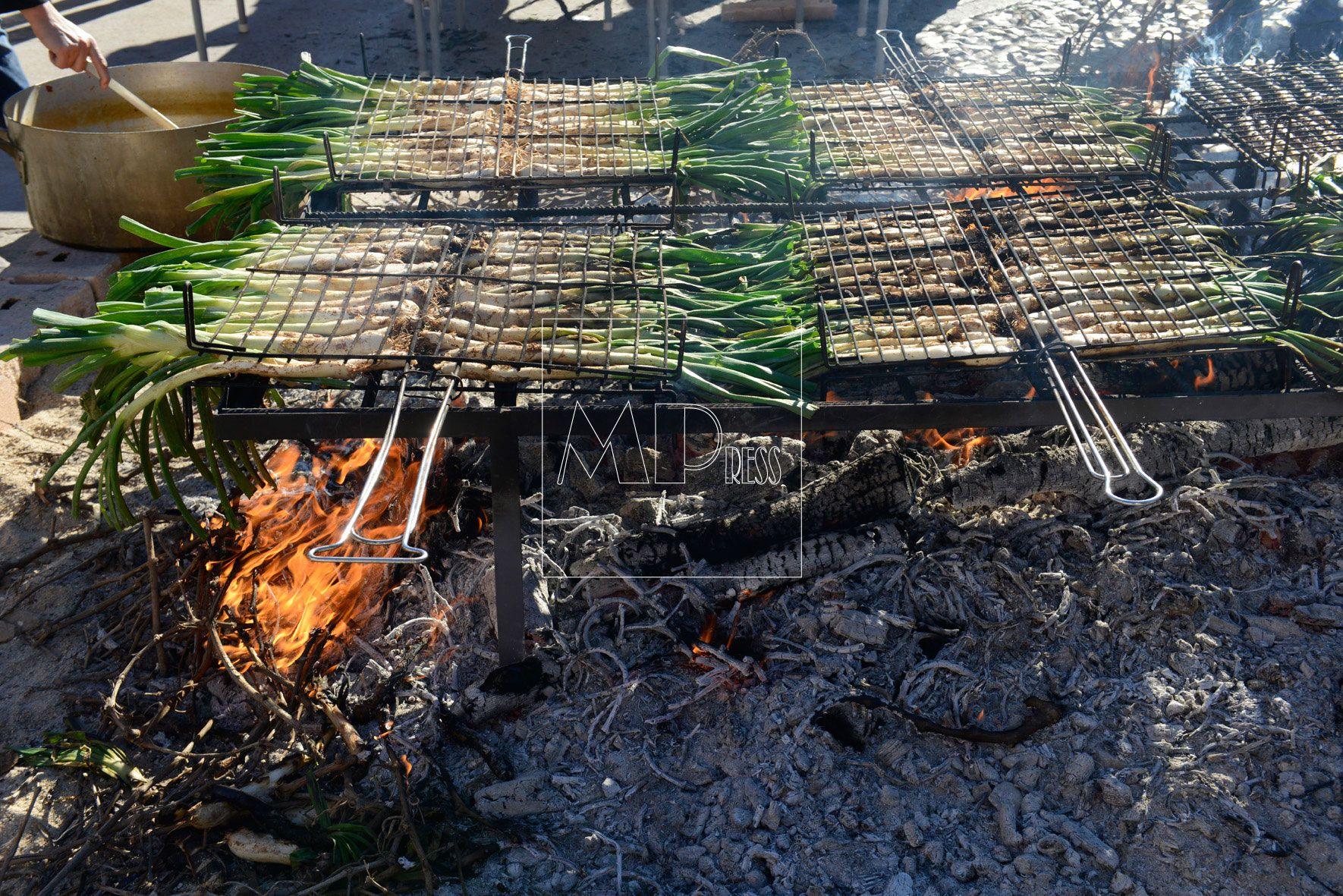 5.000 Cebolletas se consumen durante la Fiesta de la Cebolleta