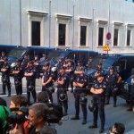 15 M Concentracion en Congreso de los diputados de Madrid