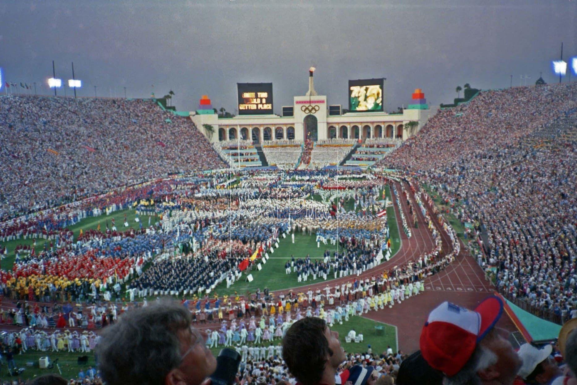 Los Angeles Juegos Olimpicos 1984 .